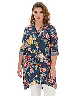 Joe Browns Floral Longline Blouse