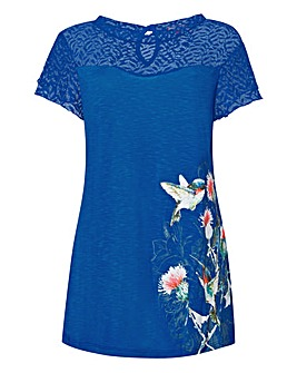 Joe Browns Lace Bird Top