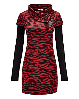 Joe Browns Zebra Jacquard Tunic