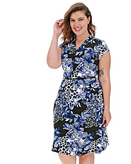 Joe Browns Floral Animal Dress