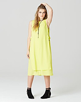 Simply Be Layered Tie Side Dress