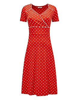 Joe Browns Perfect Polka Dot Dress