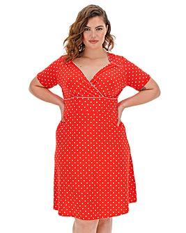 Joe Browns Perfect Polka Dot Dress