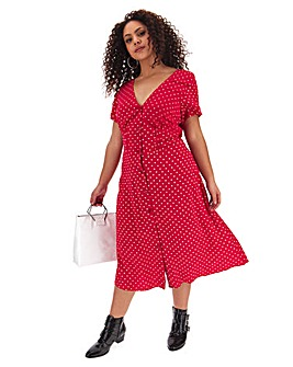 Joe Browns Flattering Button Through Dress