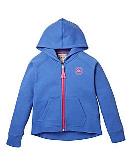 Converse Girls Zip Hooded Sweatshirt