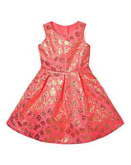 KD Girls Brocade Prom Dress