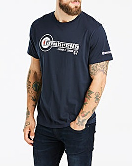 Lambretta Flag Logo Tee Long