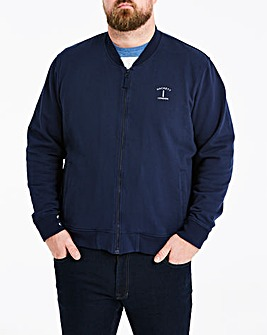 Hackett Mighty Mr. Classic Zip Thru Bomber Sweat