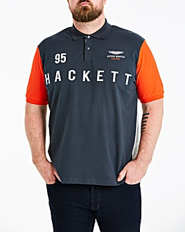 Hackett Mighty AMR Multi Polo Shirt