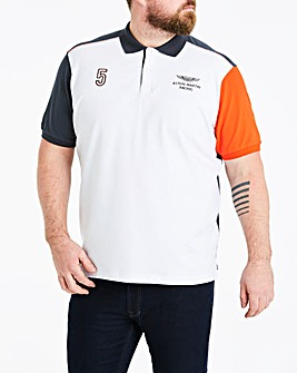 Hackett Mighty AMR Multi Polo Shirt
