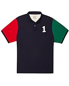 Hackett Mighty Contrast Logo Polo Shirt