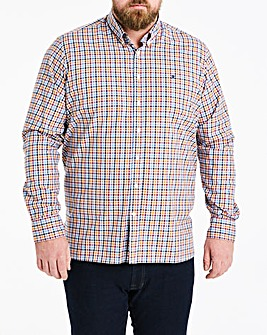 Hackett Mighty Langdale Twill Check Long Sleeve Shirt