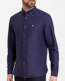 Lyle & Scott Oxford Cotton Long Sleeve Shirt
