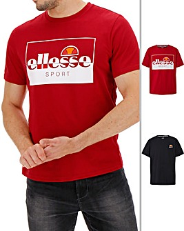 Ellesse Pack of 2 T-Shirts Long