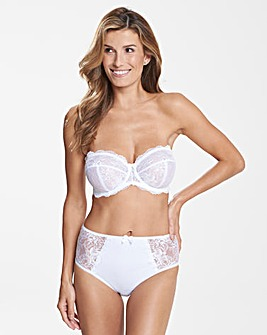 Pretty Secrets Ella Lace White Multiway Bra