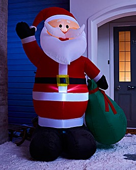 Inflatable 6ft Santa