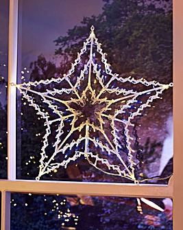 100 LED Window Star