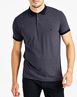 French Connection Contrast Collar Polo