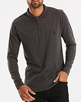 French Connection Basic Polo Long Sleeve