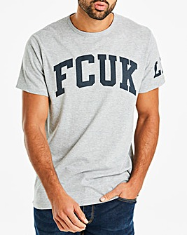 French Connection Collegiate Logo Tee