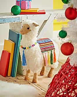 Wooly Llama Decoration