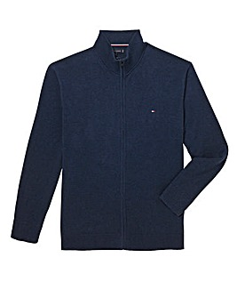 Tommy Hilfiger Mighty Zip Through Knit