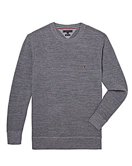 Tommy Hilfiger Waffle Crew Neck Knit