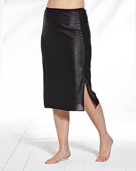2 Pack Black/Natural Waist Slips, L23