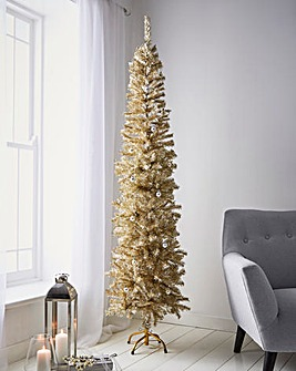 Champagne Gold Slim Tree