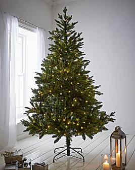 Real-Look Pre-Lit Yukon Tree