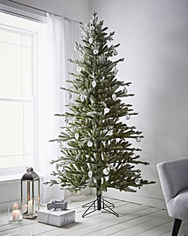 Real-Look Premium Frozen Blue Spruce Tree