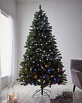Rockingham Forest Colour Switch Premium Pre-Lit Tree