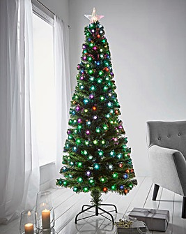 Ontario Fibre Optic Colour Changing Ball Tree