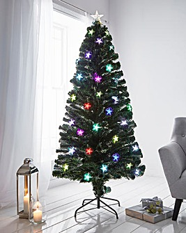 Cosmos Colour Changing Fibre Optic Tree