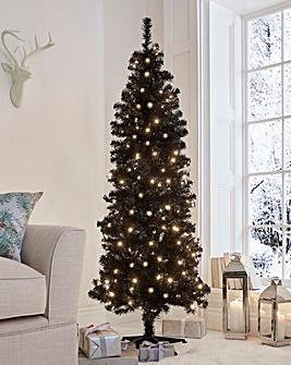 Ottowa Black Prelit Tree