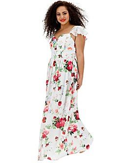 Chi Chi London Floral Maxi Dress