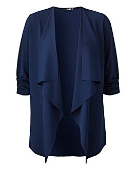 Quiz Curve Navy Waterfall Jacket