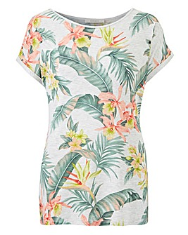 Oasis Curve Tropical Tee