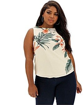 Oasis Curve Placement Shell Top