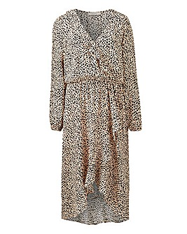 Oasis Curve Animal Wrap Midi