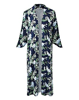 Oasis Curve Longline Kimono