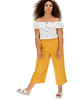 Oasis Curve Crop Trousers