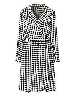 Vero Moda Dot Midi Dress
