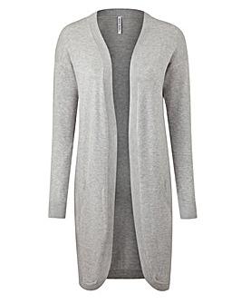 Grey Marl Kangaroo Cardigan