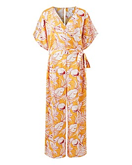 Glamorous Floral Printed Jumpsuit