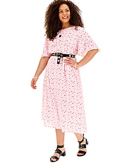 Glamorous Heart Midi Dress