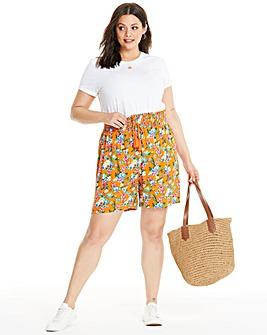 Glamorous Floral Printed Shorts