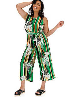 Glamorous Stripe and Tropical Jumpsuit