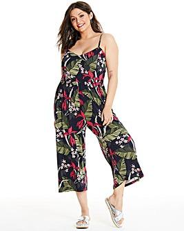 Oasis Curve Bali Cami Culotte Jumpsuit