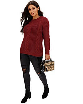Junarose Cable Knit Jumper